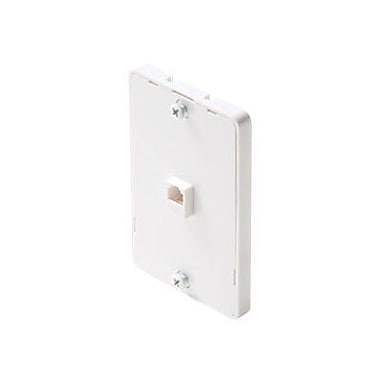 STEREN 300-094 Wall Phone Jack, White
