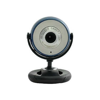 Gear Head™ WC1100 Webcam, 800 x 600, 1.3 MP, Blue/Black