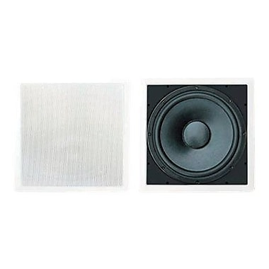 Pyleaudio® PDIWS10 In-Wall High Power Subwoofer System, White