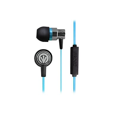 ifrogz® Zagg® Earpollution Transport Earbuds With Mic, Blue