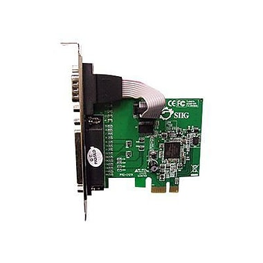 Siig® JJ-E00011-S3 PCIe Serial/Parallel Adapter