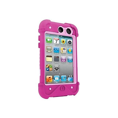 Zagg® ifrogz Bullfrogz Case For Apple iPod Touch 4th Gen, Pink