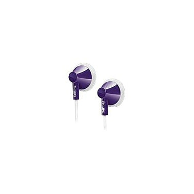 Philips SHE2100/28 In Ear Headphones, Purple