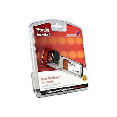 STARTECH.COM® 2 Port eSATA Controller Adapter Card (ECESATA22)