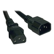 Tripp Lite 1' C13/C14 Heavy Duty Power Cord, Black