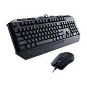 Cooler Master® Devastator Keyboard and Mouse USB Gaming Bundle, Black
