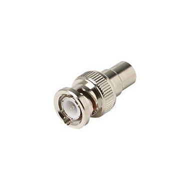 STEREN 200-173-10 RCA to BNC Plug Connector, Silver