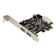 Startech.com® PEXUSB3S25 2 Port PCI Express SuperSpeed USB 3.0 Adapter Card With UASP Support