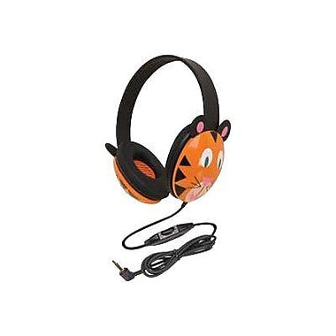 Califone® Ergoguys 2810-TI Kids Stereo/PC Headphone, Black