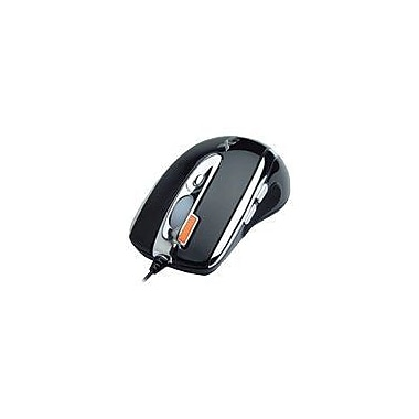 A4Tech® XL-750 Oscar Laser Gaming Wired Mouse, Black