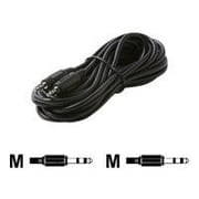 STEREN® 12' 2.5mm Audio Patch Cord, Black