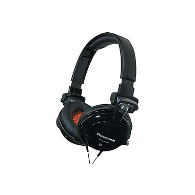 Panasonic RP-DJS400 Over-the-Head Headphone, Black