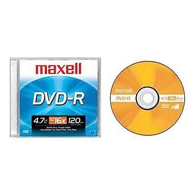 Maxell 638000 4.7 GB DVD-R Jewel Case