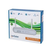 Manhattan® 525466 Wireless-N Router, 300 Mbps