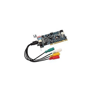Siig® LP-000022-S2 Low Profile Sound Card With Via 1723 + 1618 audio codec processor Chipset