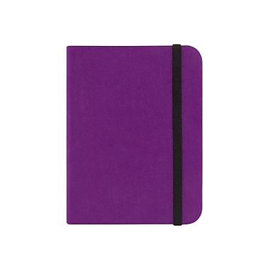Kobo SleepCover Leather Book Fold Carrying Case For Kobo - Glo Digital Text Reader, Purple