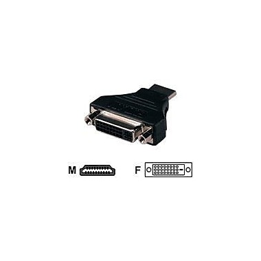 QVS HDVI-MF HDMI to DVI-D Video Adapter, Black