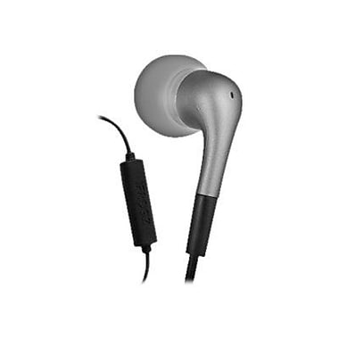 Zagg® ifrogz Earpollution Luxe Earbuds With Microphone, Silver