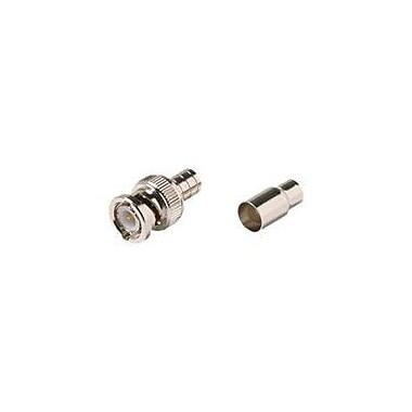 STEREN® 200-131-10 BNC Hex Crimp Connector