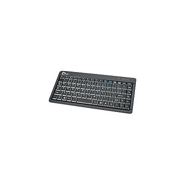 SIIG JK-US0512-S1 Wired Ultra Slim Mini Keyboard, Black