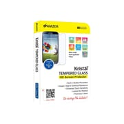 Amzer® Kristal™ Tempered Glass HD Screen Protector For Samsung Galaxy S4, Transparent