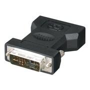 Black Box® DVI-I Male to VGA HD15 Female Adapter