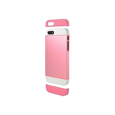 Cygnett Alternate Two Tone Dockable Case For iPhone 5 + 5s, Pink/White