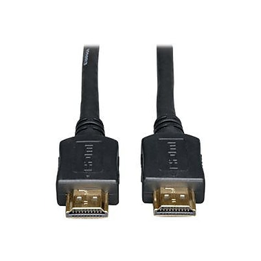 Tripp Lite 12' High Speed Gold HDMI Cable, Black