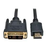 Tripp Lite P566-003 3' HDMI to DVI-D Cable, Black