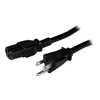 StarTech PXT515C158 8' Computer Power Cord, Black