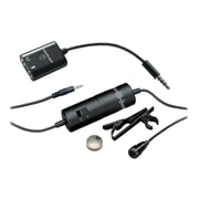 Audio-Technica® ATR3350iS Omnidirectional Condenser Lavalier Microphone With Smartphone Adapter