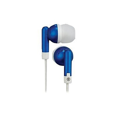 RCA HP61 Squish Stereo Earbud, Blue
