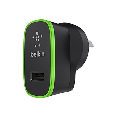 Belkin™ Single Micro AC Charger, Black