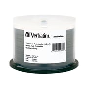 Verbatim 94889 4.7 GB DVD+R Spindle, 50/Pack