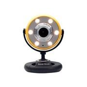 Gear Head™ WC1400 Webcam, 800 x 600, 1.3 MP, Yellow/Black