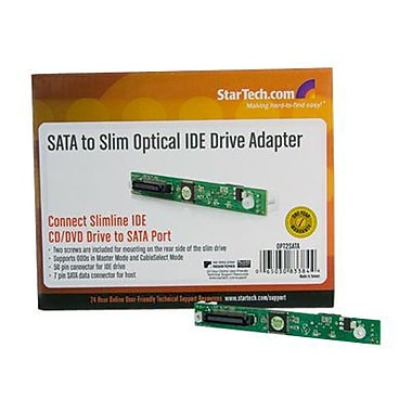 Startech.com® SATA to Slim Optical IDE Drive Adapter (OPT2)