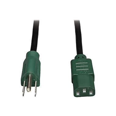 Tripp Lite P006 Standard Power Cord, 4'(L), Green