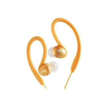 JVC HAEBX5 Sports Ear Clip Headphone, Orange