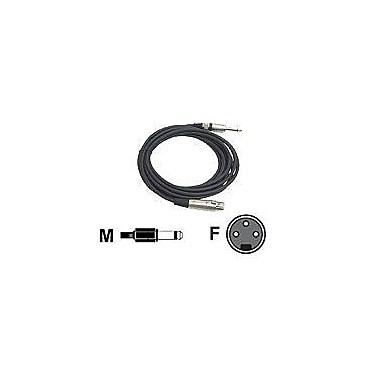 Pyleaudio® PPMJ-L15 Professional Microphone Cable, 15'(L)