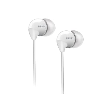 Philips SHE3590/10 In Ear Headphones With Dynamic Bass, White