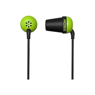 Koss PLUG G Wired In-Ear Headphone, Green