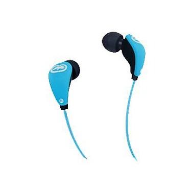 Mizco Ecko Glow Earbud, Blue