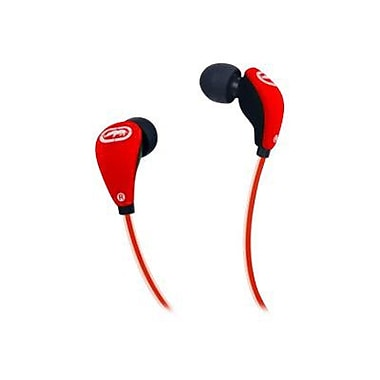 Mizco Ecko Glow Earbud, Red