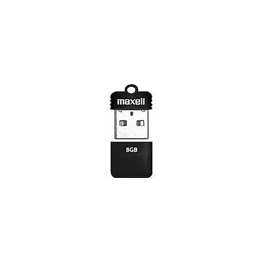 Maxell® Onyx 503052 USB 2.0 Mini Flash Drive, 8GB