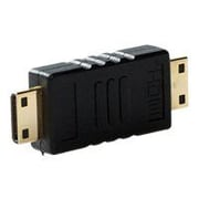 4XEM™ HDMI A Male To HDMI A Male Adapter, Black