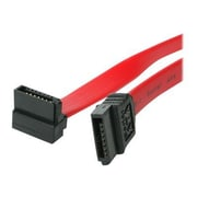 "StarTech 8"" SATA to Right Angle SATA Data Transfer Cable, Red"