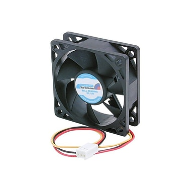 StarTech FAN6X2TX3 Ball Bearing Computer Case Fan With TX3 Connector, 4500 RPM