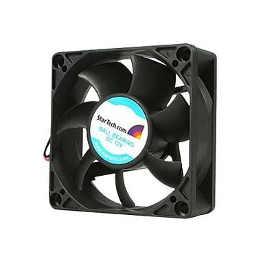 Startech.com® FAN7X25TX3 Ball Bearing PC Case Fan With TX3 Connector, 3400 RPM