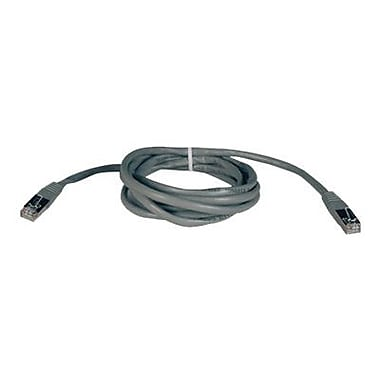 Tripp Lite N105-010-GY 10' CAT-5e Patch Cable, Gray