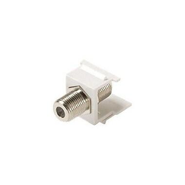STEREN® F-Type Keystone Modular Insert, White